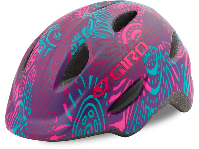 Giro Scamp Helmet Youth Matte Purple Blossom